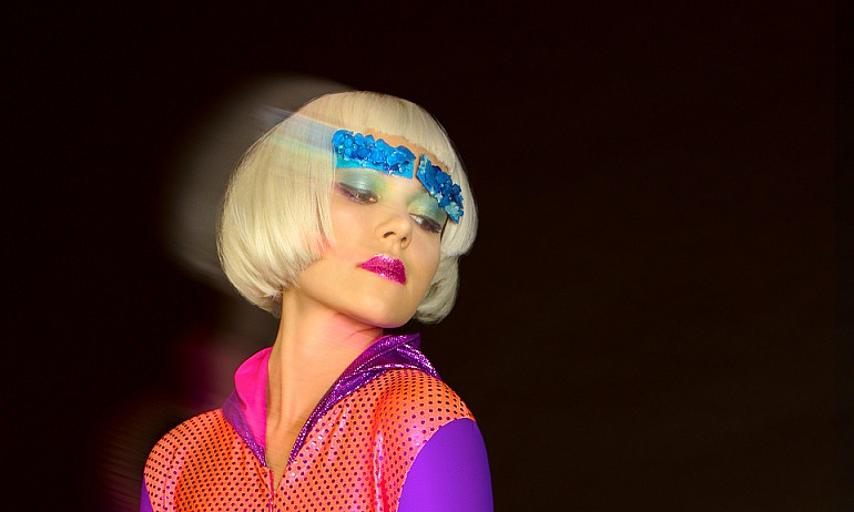 "Fashion Editorial ""Jem and the Holograms"" for V. Newark"